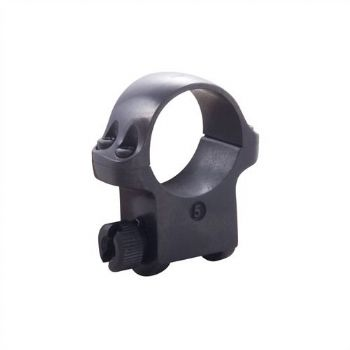 "Ruger 5B Mount Ring - 1"" Blued Alloy High Height for upto 52mm scope lens - 90271"